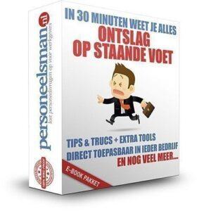 ontslag op staande voet, dringende reden, checklist, stappenplan, e-book